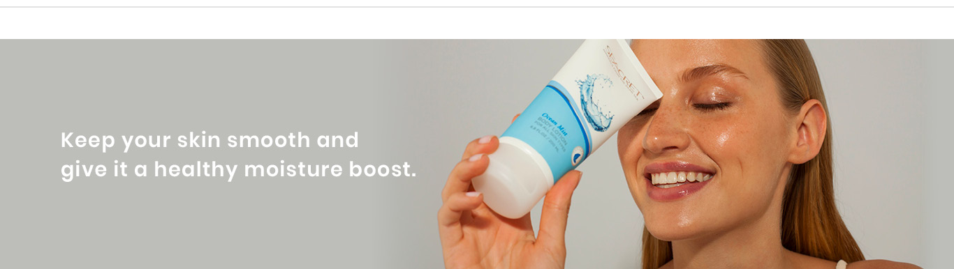 Body Lotion page top
