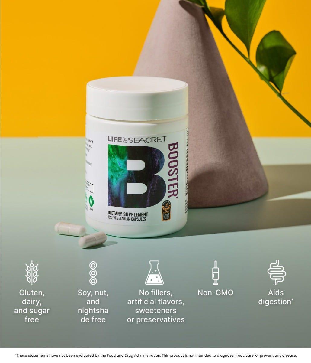 booster - dietary supplement
