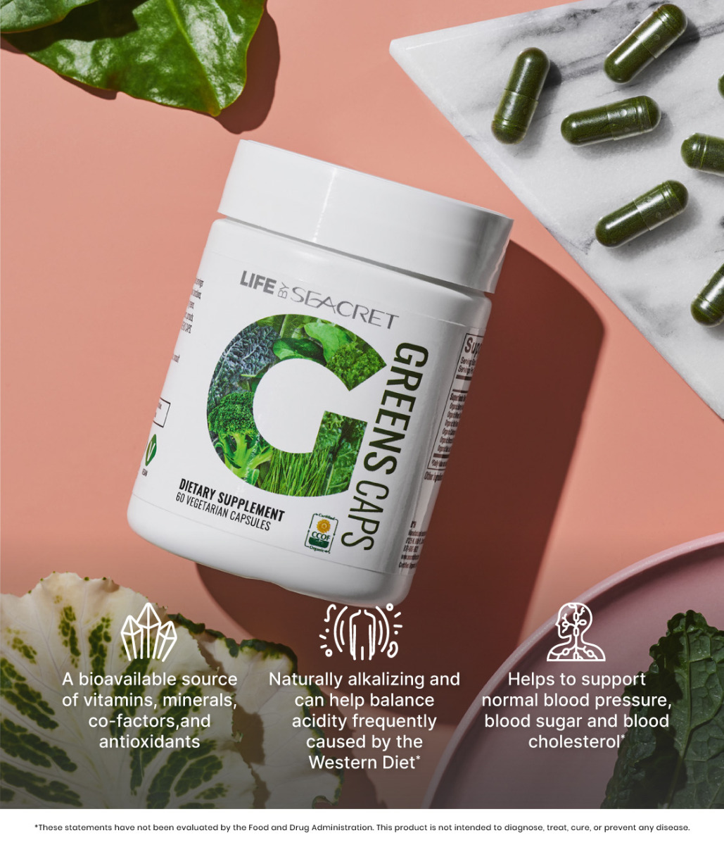 Greens Caps Dietary Supplement Benefits