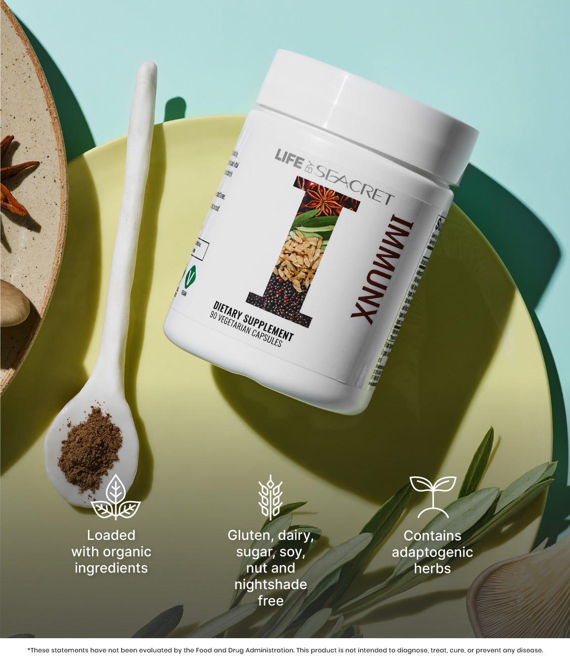 Immunx Dietary Supplement Benefits