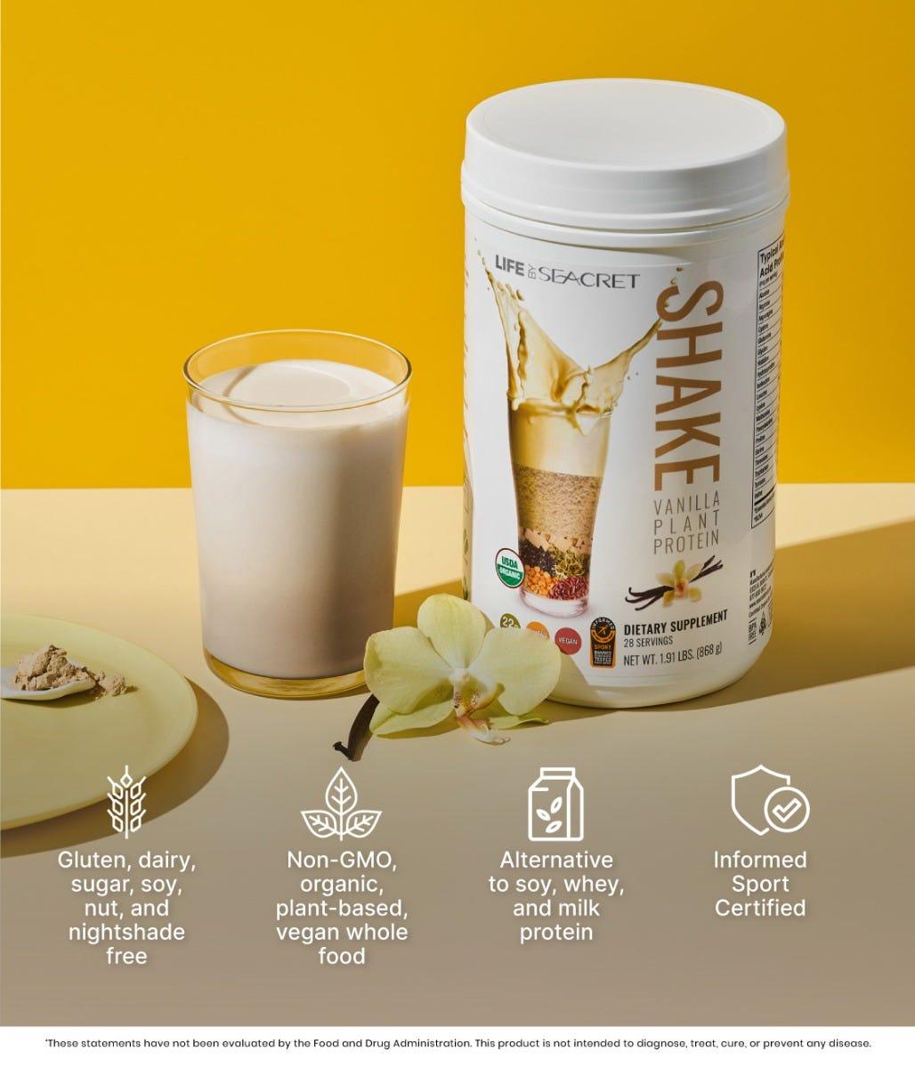 Shake Dietary Supplement Benefits